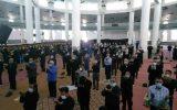 نماز ظهر عاشورا در گچساران برگزار شد+ گزارش تصویری