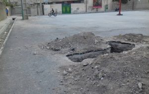 نشتی چندین نقطه لولههای گاز/خطر انفجاری که جان مردم روستای نوگک را تهدید میکند