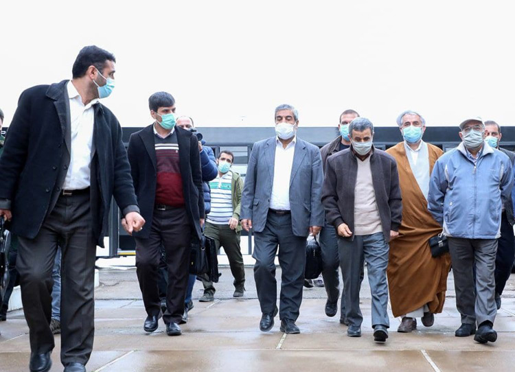 کیفهای ضد گلوله حفاظت از احمدینژاد+تصاویر